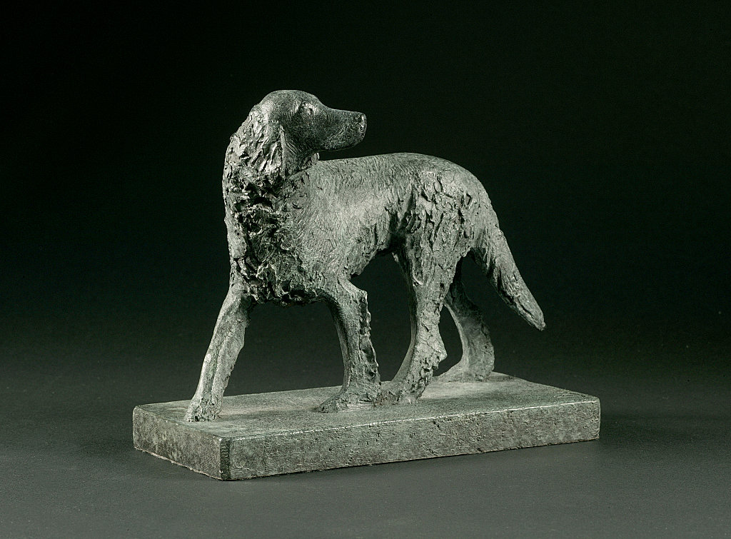 Model of Dog for Animals in War Memorial