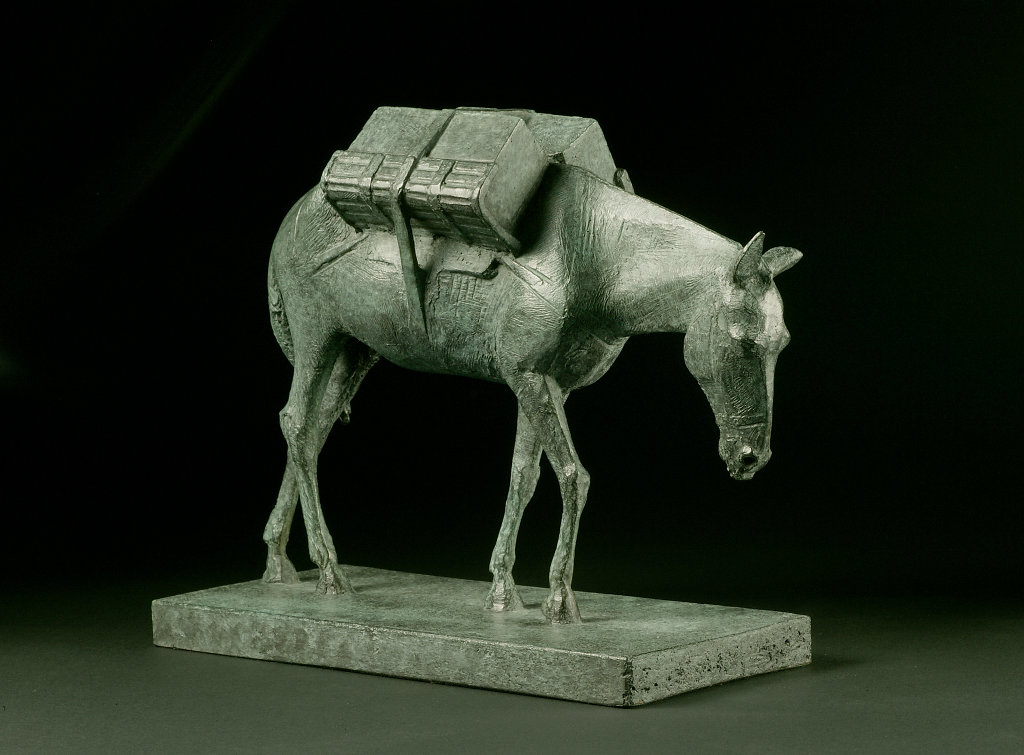 Model for Pack mule, Animals in War Memorial