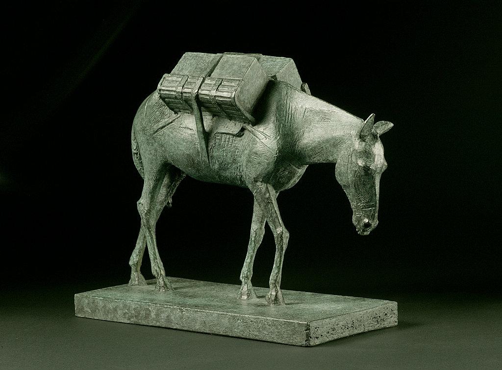 Model for Pack mule, Animals in War Memorial