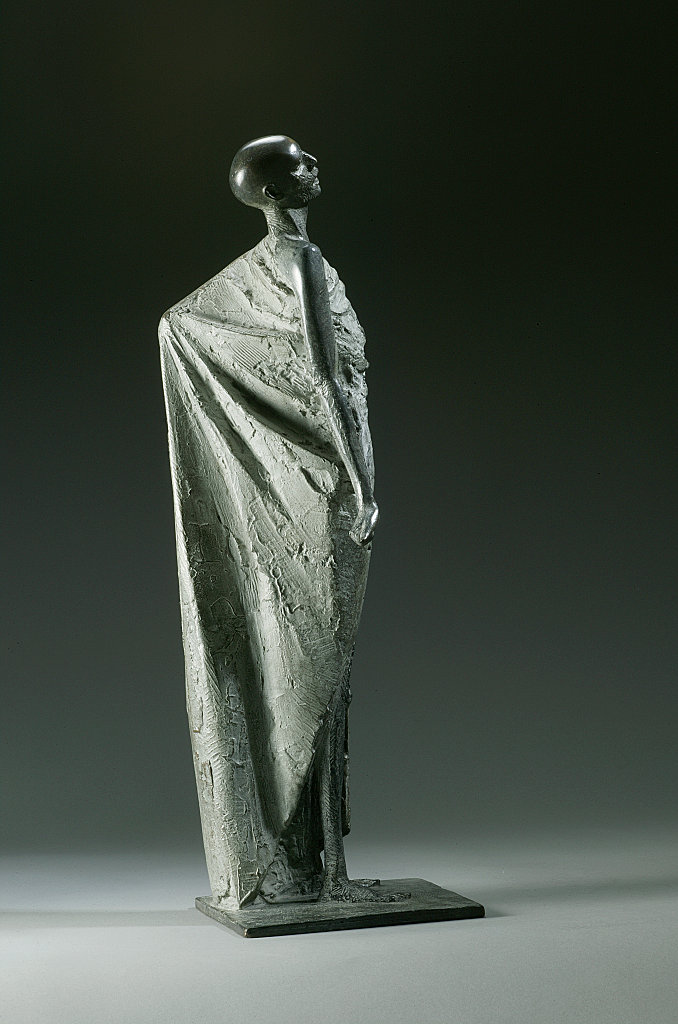 Shrouded figure VI