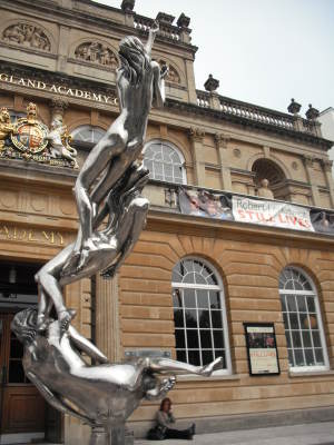 Aspiration - on forecourt of Royal West of England Academy